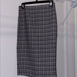 The Linited plaid pencil skirt